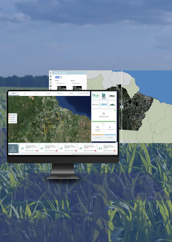 Sistema de Monitoramento do Estado do Pará